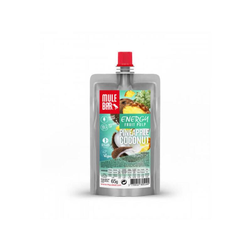 Pulpe de fruits - Végane - 65g - Ananas / Coco