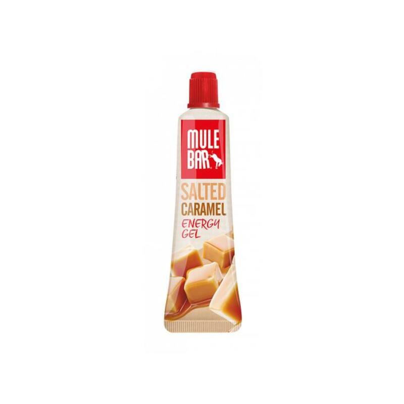 Gel énergétique avec bouchon refermable 37g : Caramel salé