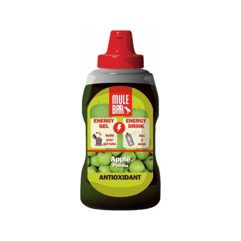 Eco-Recharge gel énergétique ou boisson énergétique 444g : Pomme