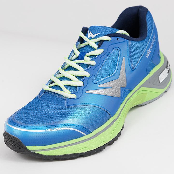 Chaussures de running homme Wizwedge Helium universel Bleu Vert
