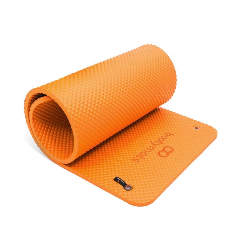 Colchoneta extra acolchada. Máximo confort y comodidad. 160x60cm. Naranja