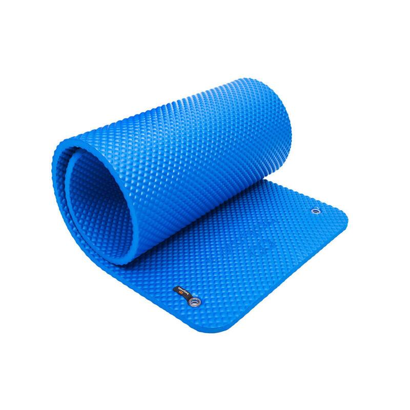 Esterilla extra acolchada de gran tamaño. Máximo confort. 180x60cm. Azul