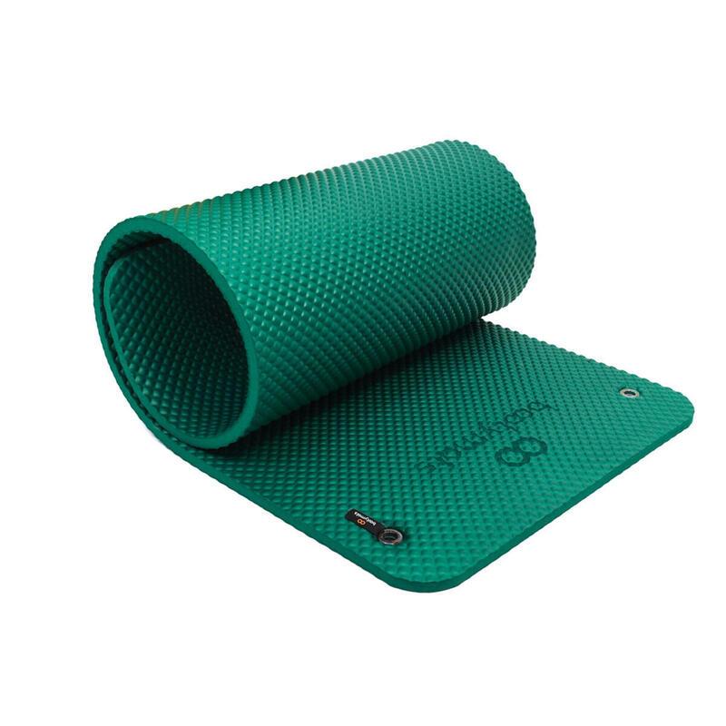Esterilla extra acolchada de gran tamaño. Máximo confort. 180x60cm. Verde