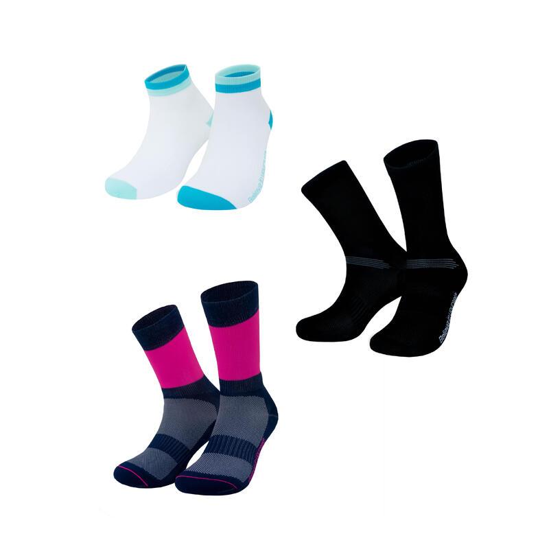 Offre groupée de chaussettes velo performance unisex