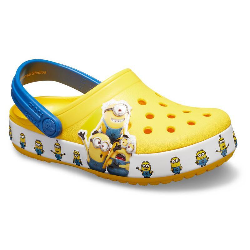 Fun Lab Minions Clog 童裝涼鞋 - 黃