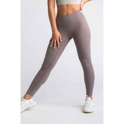 Flux Legging Fitness - Dames - Sand Beige