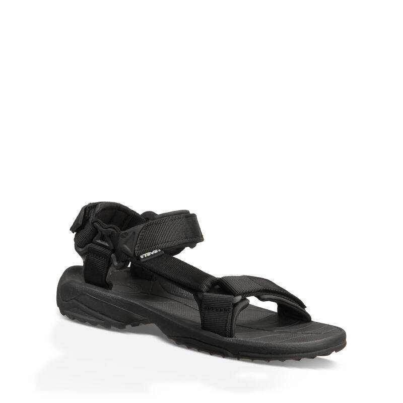 TEVA - 男裝 TERRA FI LITE 戶外涼鞋 - 黑色