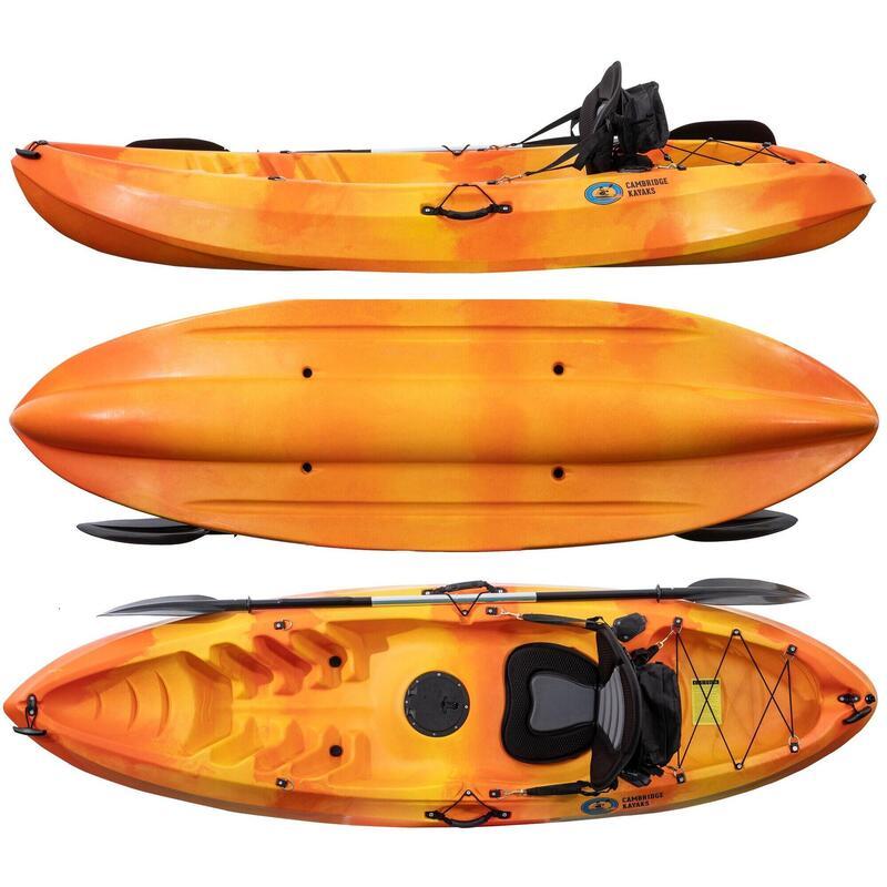 Cambridge kayaks Neptune Sit on Top Kayak LENGTH 263CMS X 75CMS X 35CMS