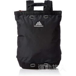Gregory 16L FLASH DAY BLACK 2 ways Backpack