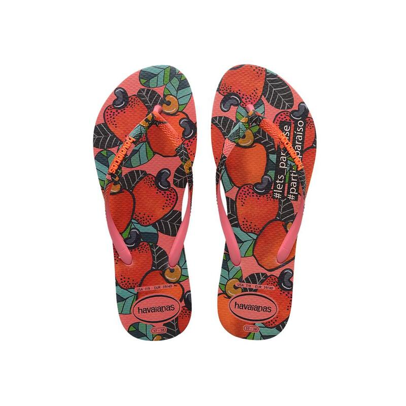 HAVAIANAS 女裝 SLIM SUMMER 人字拖鞋 - 桃紅色