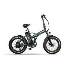 E-ROAD PLUS Marine Green Bicicletta Elettrica Pieghevole a Pedalata Assistita