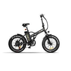 E-ROAD Marine Black Bicicletta Elettrica Pieghevole a Pedalata Assistita