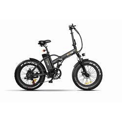 E-ROAD PLUS Pure Black Bicicletta Elettrica Pieghevole a Pedalata Assistita