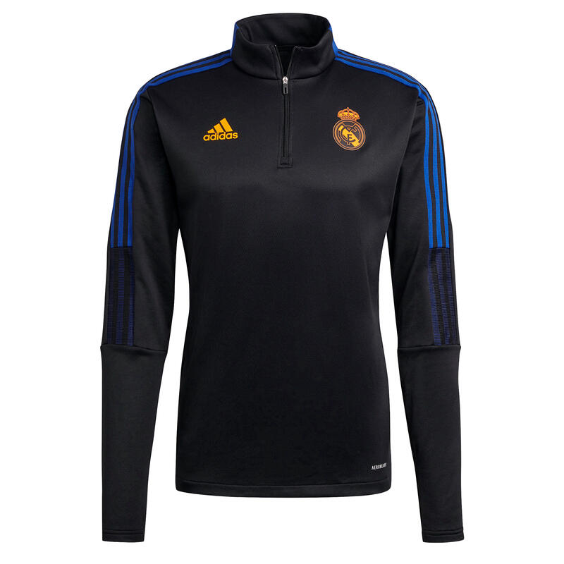 Sweat d'entraînement à zip Real Madrid Tiro Warm