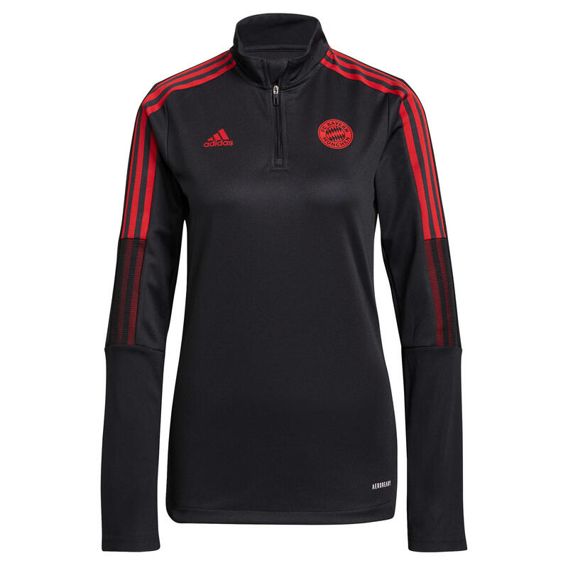 Sweat d'entraînement à zip femme FC Bayern Munich Tiro