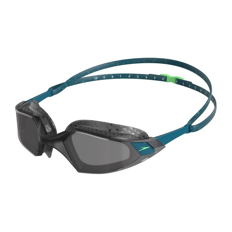 AQUAPULSE PRO 成人泳鏡 (亞洲版)  深綠 / 淺灰