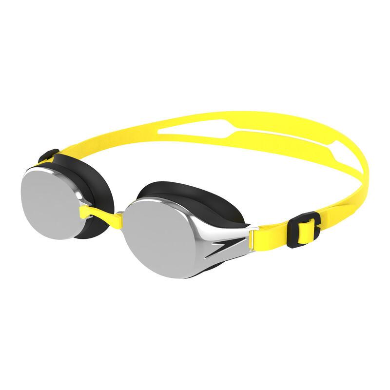 HYDROPURE 兒童 (6-14 歲) 鍍膜 泳鏡 螢光黃 / 黑 / 銀