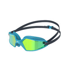 HYDROPULSE JUNIOR (AGED 6-14) MIRROR GOGGLES NAVY / BLUE BAY / YELLOW GOLD