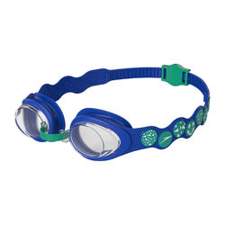 INFANT (AGED 2-6) SPOT GOGGLES BEAUTIFUL BLUE/EMERALD/CLEAR