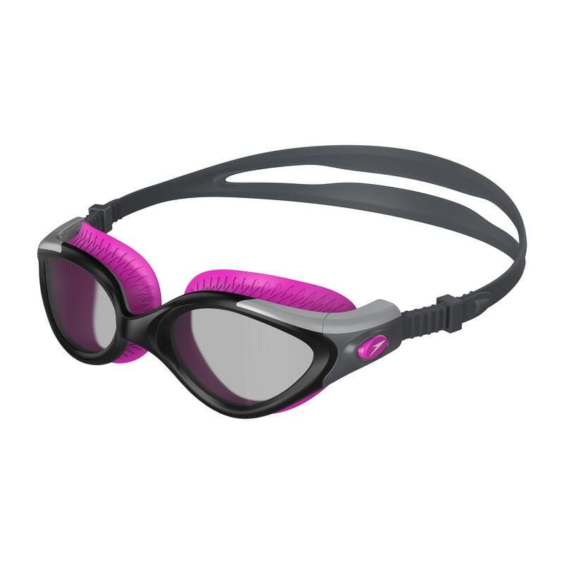 BIOFUSE FLEXISEAL 女士用泳鏡 黑 / 煙灰