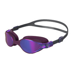 V CLASS LADIES' MIRROR GOGGLES (ASIA FIT) CHARCOAL / DEEP PLUM / VIOLET GOLD