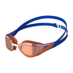 FASTSKIN PURE FOCUS MIRROR GOGGLES (ASIA FIT) BLUE / DRAGON FIRE / ROSE GOLD