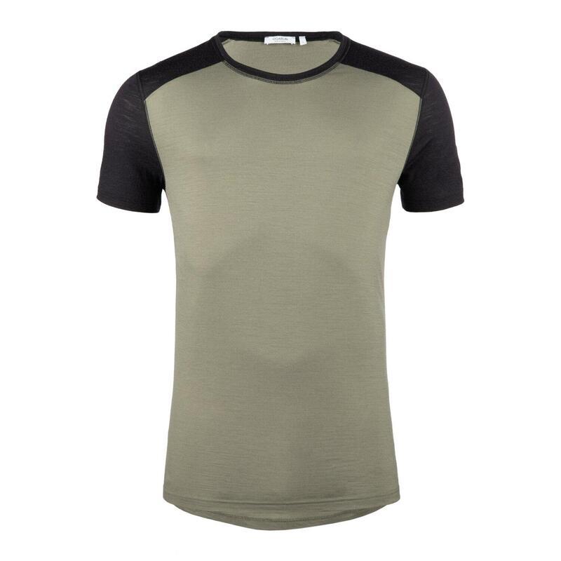 T-Shirt laine mérinos Homme 30-40°C