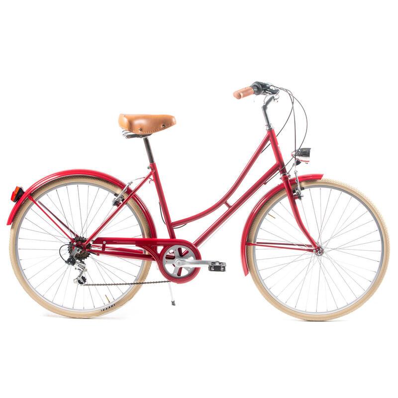 Capri Valentina vélo de ville rouge