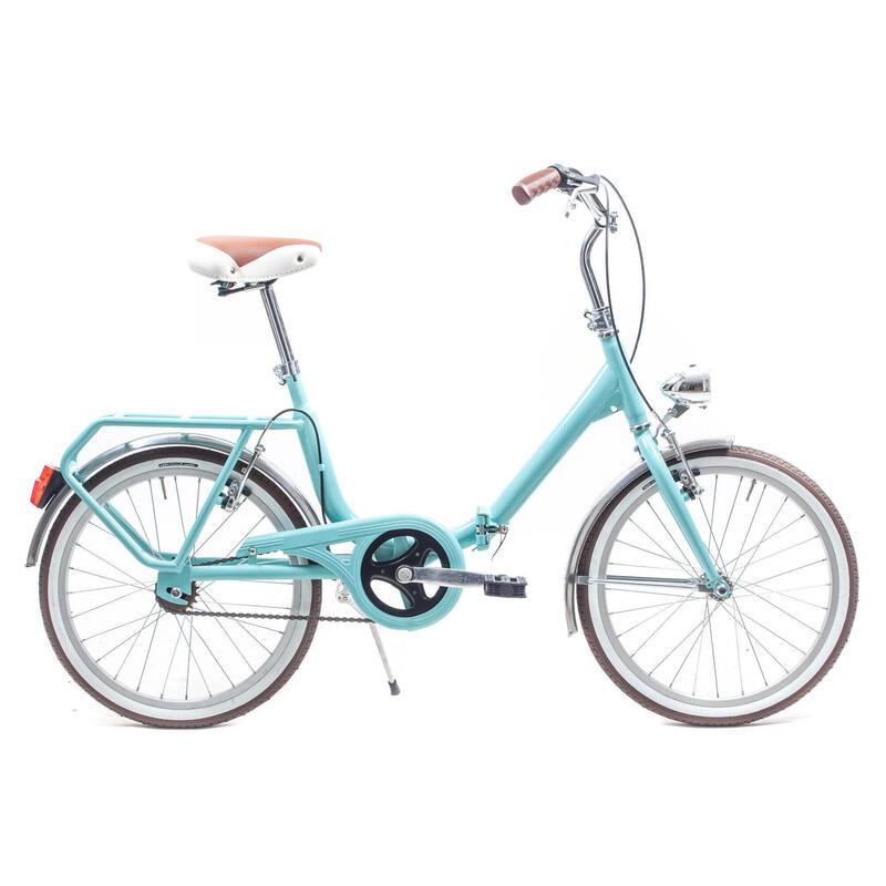 Capri Bambina aquamarina vélo de ville pliable