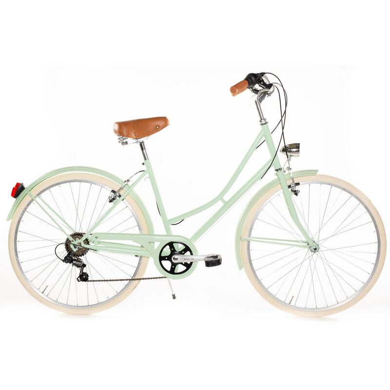 Capri Valentina vélo de ville vert pastel