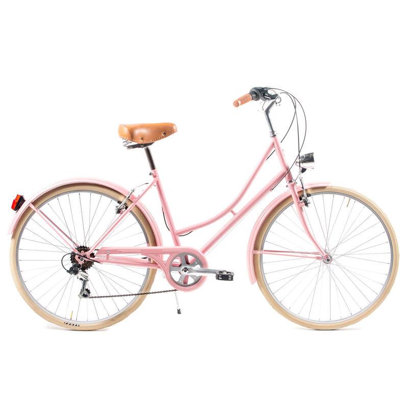 Capri Valentina vélo de ville rose lavande