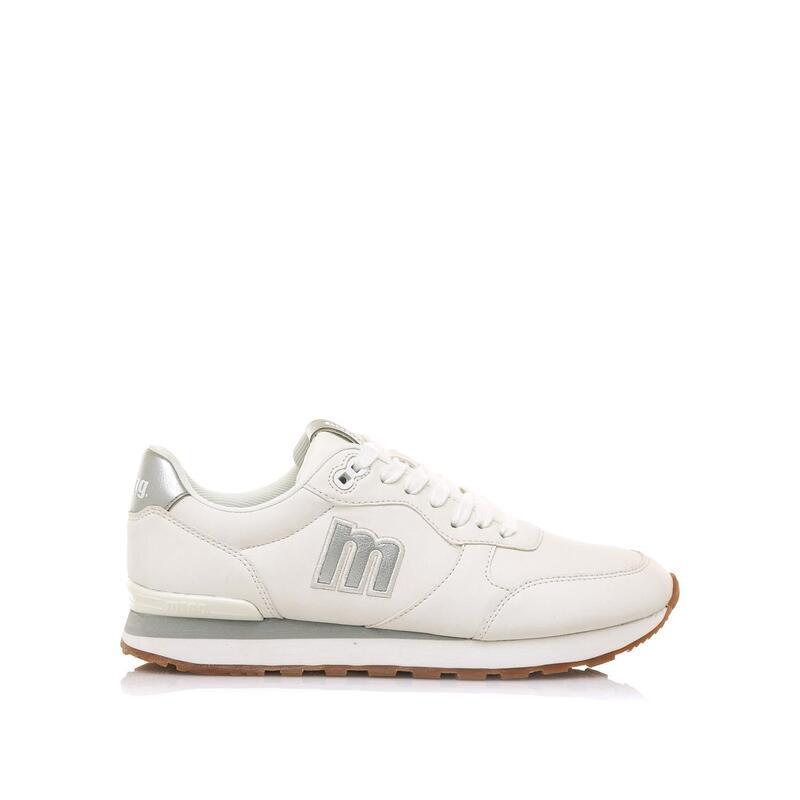 Sneaker Mujer MTNG JOGGO blanco