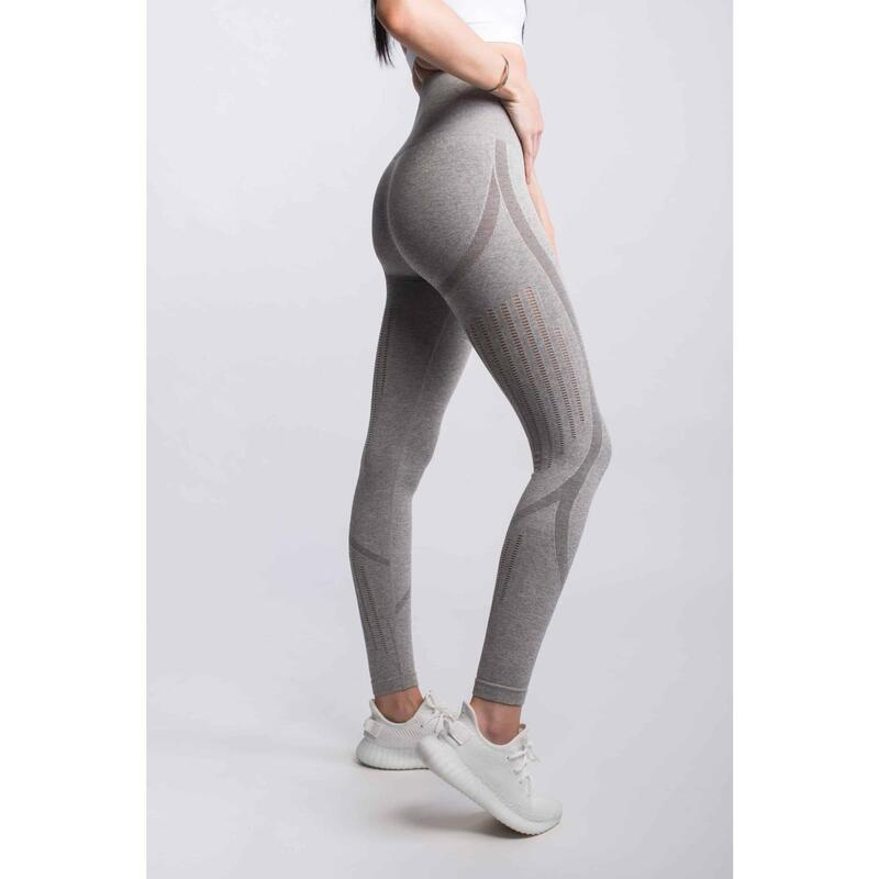 Motion Seamless Legging Fitness - Femme - Gris