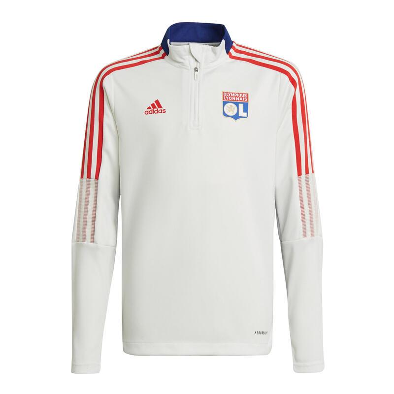 Sweatshirt d'entraînement à zip enfant Olympique Lyonnais Tiro