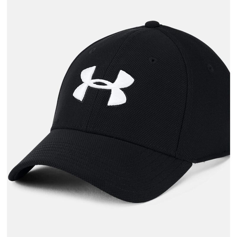 Unisex Adult Blitzing Baseball Cap (Black/White)