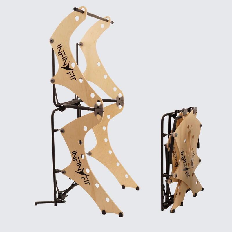 Chaise romaine pliable pour la musculation au poids du corps INFINYFIT 130.3