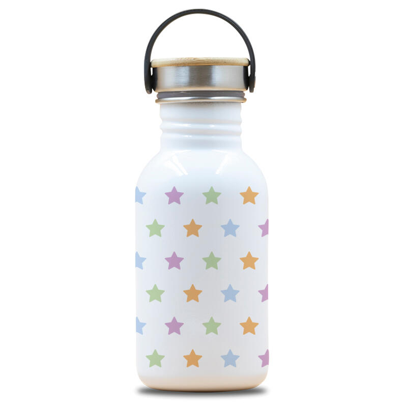 CANTIMPLORA BOTELLA ACERO INOXIDABLE LAKEN BASIC STEEL DRINK LIFE! 500 ML STARS