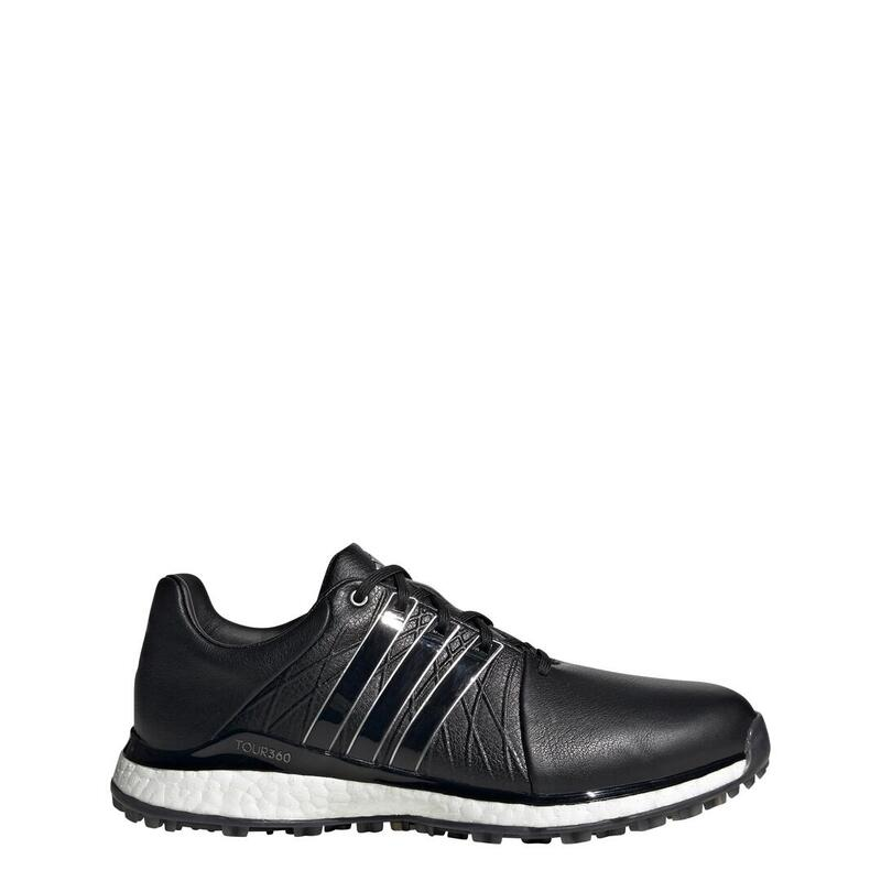 adidas chaussures de golf TOUR360 XT-SL 2 femmes en cuir noir taille 39 1/3