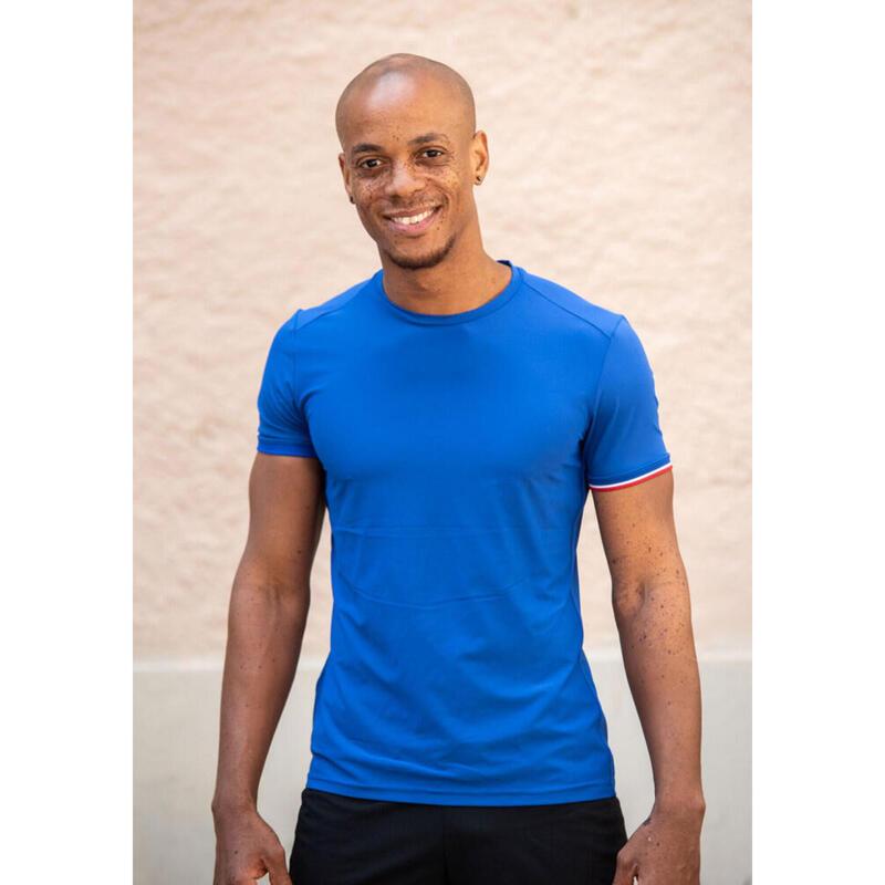 T-shirt Le classique Bleu Homme