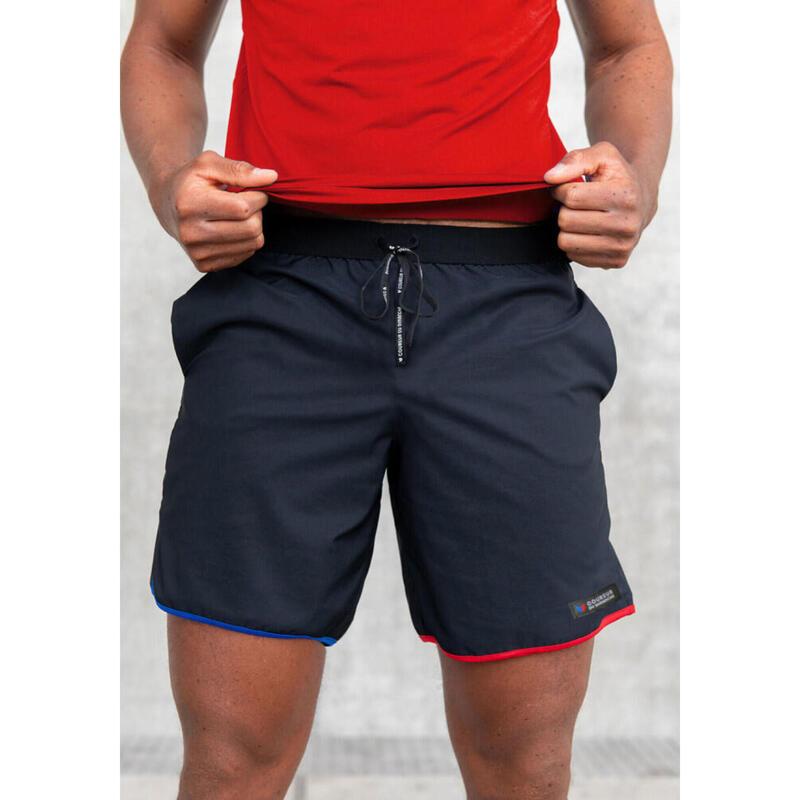 Short Le tricolore Noir Homme