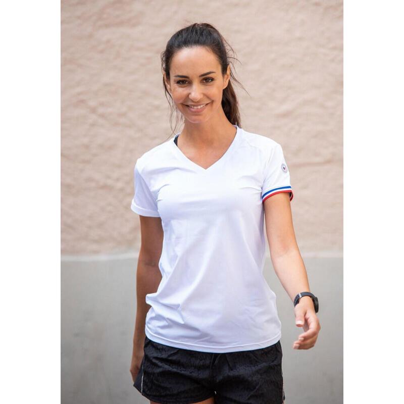 T-shirt Le classique Blanc Femme