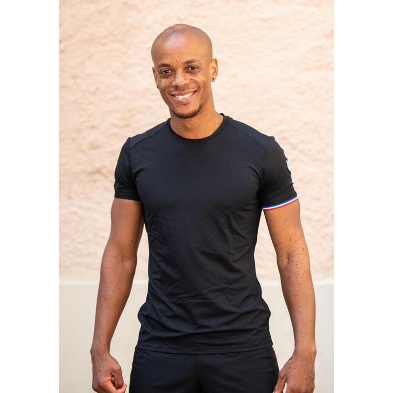 T-shirt Le classique Noir Homme