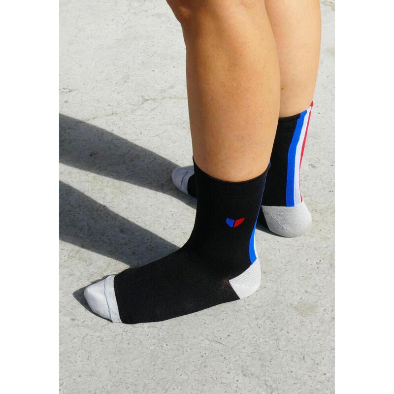 Chaussettes Les tricolores Noires