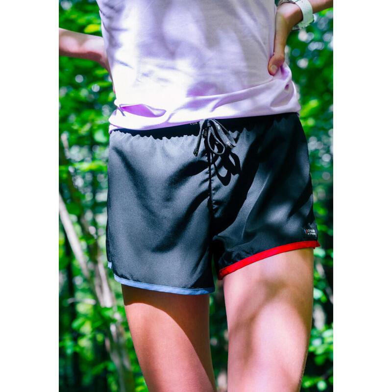 Short Le tricolore Noir Femme