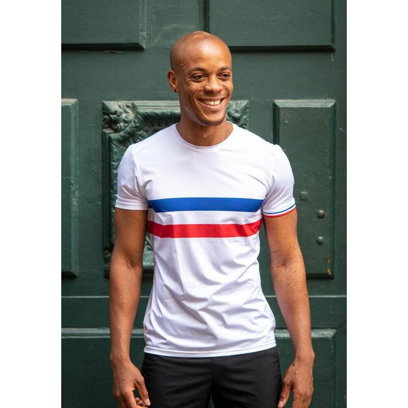 T-shirt Le champion de France Blanc Homme