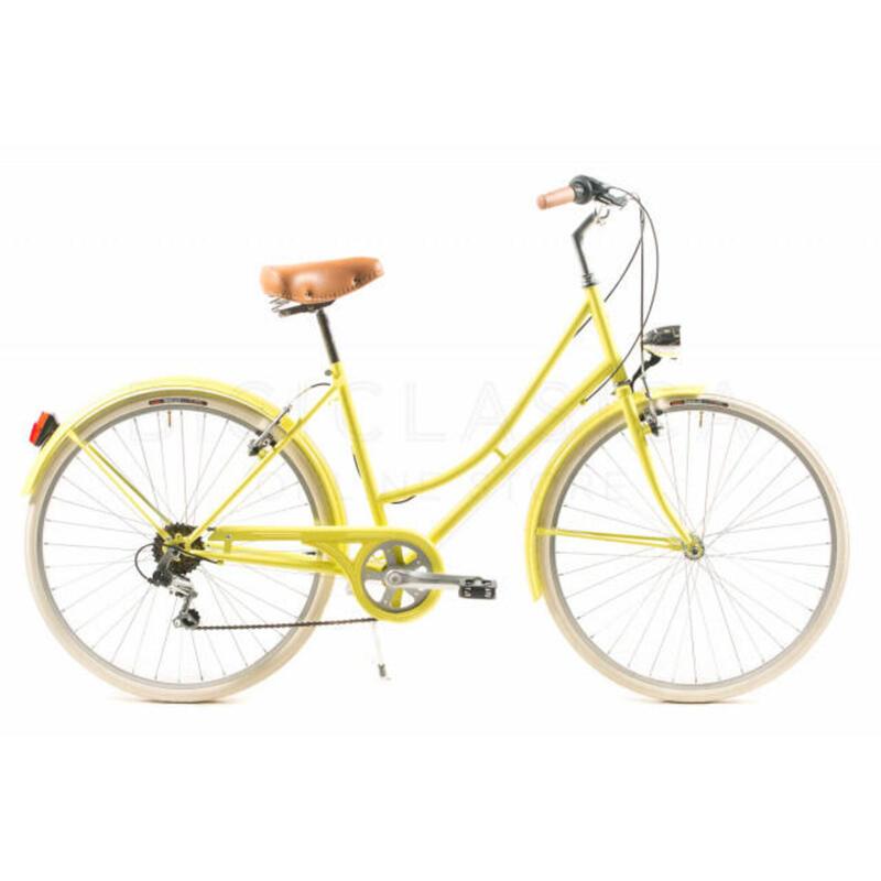 Capri Valentina vélo de ville jaune lime