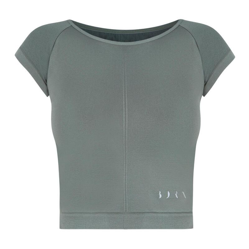 Camiseta Yoga Seamless Mujer Halia