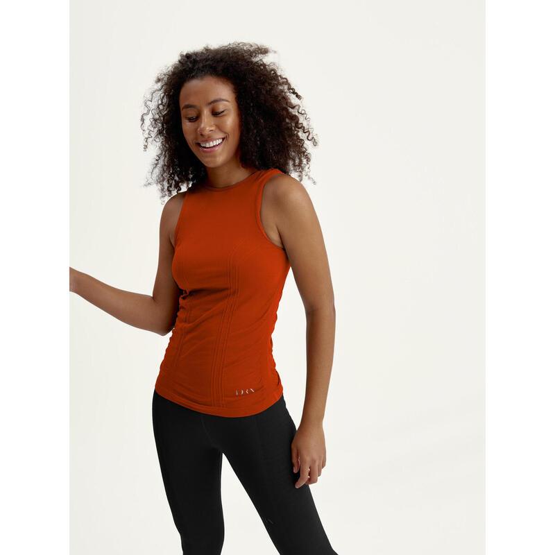 Camiseta Yoga Seamless Mujer Ustra Tank Top