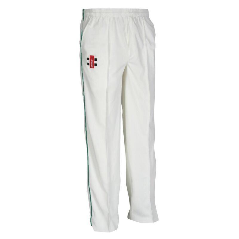 Children/Kids Matrix Cricket Trousers (Pack of 2) (Ivory/ Bottle)