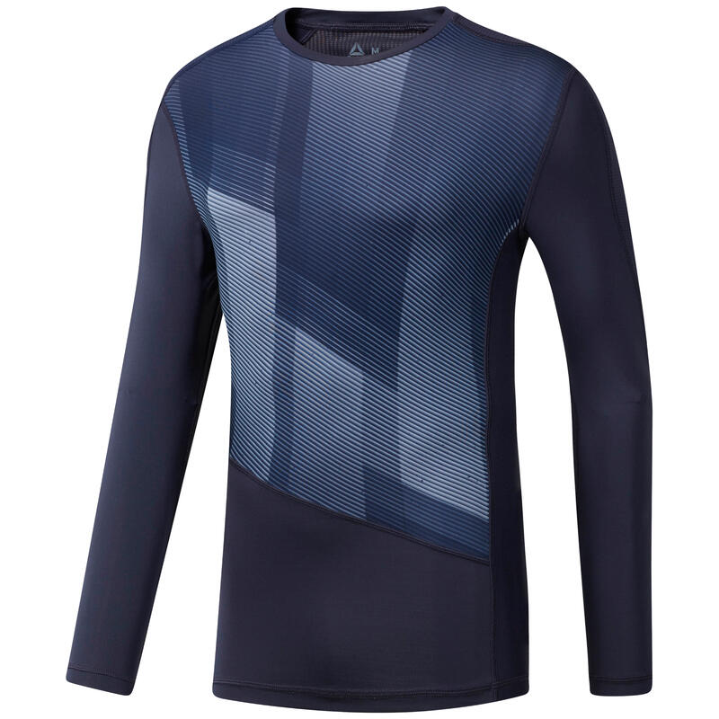 T-shirt compression manches longuees Reebok OST